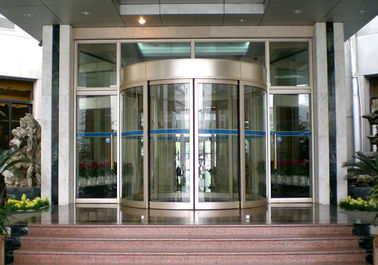 চীন Mansion Double wing automated commercial automatic sliding glass doors সরবরাহকারী